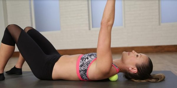 Tennis Ball Works for Your Lower Back